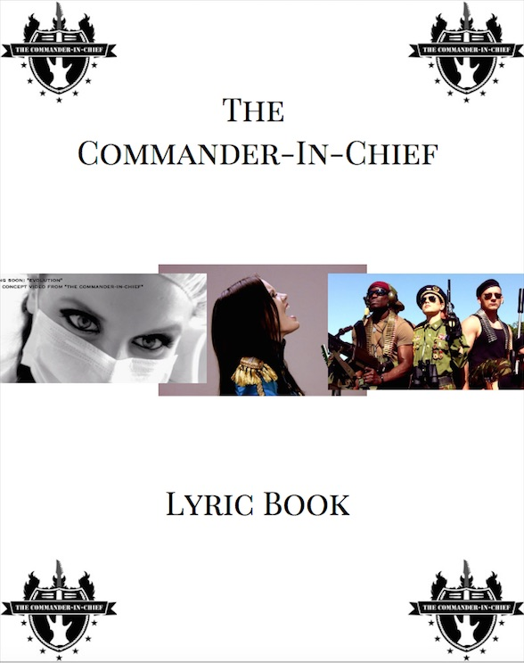 the-commander-in-chief-lyric-book