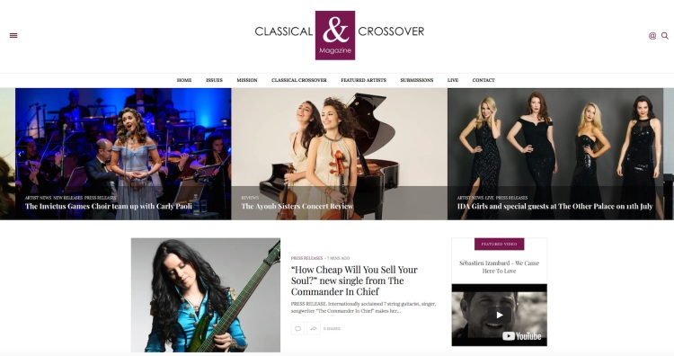classical & crossover magazine